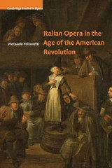 Omslag - Italian Opera in the Age of the American Revolution
