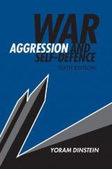Omslag - War, Aggression and Self-Defence