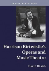 Omslag - Harrison Birtwistle's Operas and Music Theatre