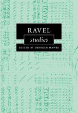 Omslag - Ravel Studies