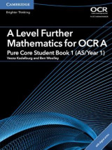Omslag - A Level Further Mathematics for OCR A Pure Core Student Book 1 (AS/Year 1) with Cambridge Elevate Edition (2 Years)