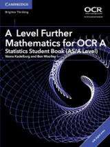 Omslag - A Level Further Mathematics for OCR A Statistics Student Book (AS/A Level) with Cambridge Elevate Edition (2 Years)
