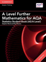 Omslag - A Level Further Mathematics for AQA Statistics Student Book (AS/A Level) with Cambridge Elevate Edition (2 Years)