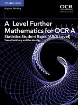Omslag - A Level Further Mathematics for OCR A Statistics Student Book (AS/A Level)