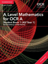 Omslag - A Level Mathematics for OCR A Student Book 1 (AS/Year 1) with Cambridge Elevate Edition (2 Years)