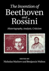 Omslag - The Invention of Beethoven and Rossini
