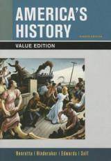 Omslag - America's History, Value Edition, Combined Volume 8e & Launchpad for America's History 8e and America: A Concise History 6e Combined Volume (Twelve Month Access)