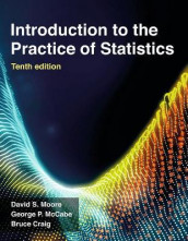 Introduction to the Practice of Statistics av Bruce A. Craig, George P. McCabe og David S. Moore (Heftet)