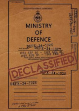 Omslag - UFO Reports Declassified - Ministry of Defense Vol 1