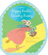 Omslag - Happy Easter, Country Bunny (Shaped Board Book)