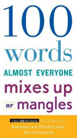 Omslag - 100 Words Almost Everyone Mixes Up or Mangles