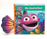 Omslag - Splash and Bubbles: My Colorful Reef (board book)