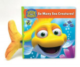 Omslag - Splash and Bubbles: So Many Sea Creatures! (board book)