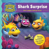Omslag - Splash and Bubbles: Shark Surprise with sticker play scene