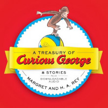 Treasury of Curious George av H. A. Rey (Innbundet)