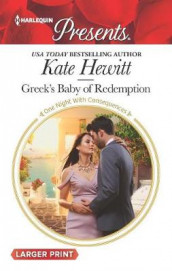 Greek's Baby of Redemption av Kate Hewitt (Heftet)