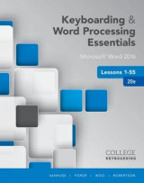 Omslag - Keyboarding and Word Processing Essentials Lessons 1-55