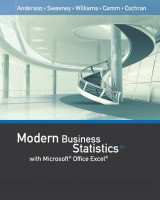 Omslag - Modern Business Statistics with Microsoft (R) Office Excel (R) (with XLSTAT Education Edition Printed Access Card)
