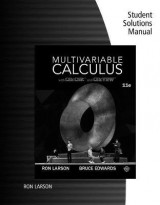 Omslag - Student Solutions Manual for Larson/Edwards' Multivariable Calculus, 11th