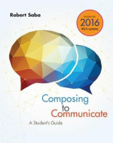 Omslag - Composing to Communicate: A Student's Guide 2016