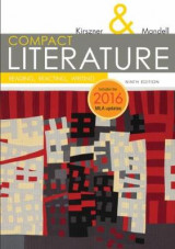 Omslag - COMPACT Literature: Reading, Reacting, Writing, 2016 MLA Update