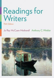 Readings for Writers (with 2016 MLA Update Card) av Jo Ray McCuen-Metherell (Heftet)