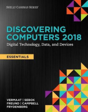 Discovering Computers, Essentials (C)2018: Digital Technology, Data, and Devices, Loose-Leaf Version av Jennifer T Campbell, Steven M Freund, Mark Frydenberg, Susan L Sebok og Misty E Vermaat (Perm)