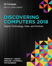 Discovering Computers 2018: Digital Technology, Data, and Devices, Loose-leaf Version av Jennifer Campbell, Steven M. Freund, Susan L. Sebok og Misty E. Vermaat (Perm)