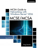 Omslag - MCSA Guide to Networking with Windows Server (R) 2016, Exam 70-741