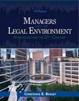 Omslag - Managers and the Legal Environment