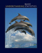 Omslag - Student Solutions Manual for Brase/Brase's Understanding Basic Statistics, 8th