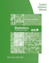 Omslag - Student Solutions Manual for Peck/Short's Statistics: Learning from Data, 2nd