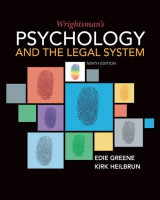Omslag - Wrightsman's Psychology and the Legal System