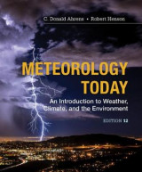 Omslag - Meteorology Today: Introductory Weather Climate & Environment, 12th Edition