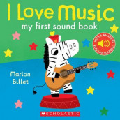 I Love Music: My First Sound Book av Marion Billet (Kartonert)