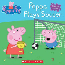 Peppa Plays Soccer av Inc. Scholastic (Heftet)