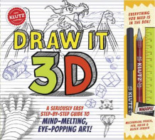 Draw it 3-D av Editors of Klutz (Blandet mediaprodukt)
