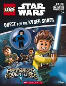 Quest for the Kyber Saber (Lego Star Wars: Activity Book with Minifigure) av Ameet Studio (Blandet mediaprodukt)