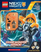 Omslag - Stone Monsters Attack! (Lego Nexo Knights: Activity Book with Minifigure)
