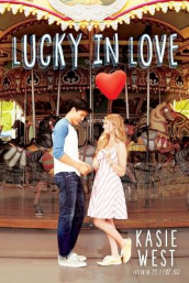 Lucky in Love av Kasie West (Innbundet)