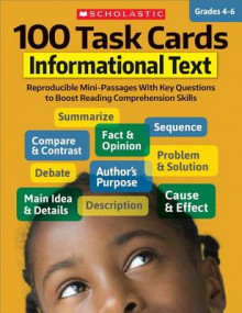 100 Task Cards: Informational Text av Scholastic Teaching Resources og Scholastic (Heftet)