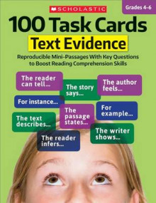100 Task Cards: Text Evidence av Scholastic Teaching Resources og Scholastic (Heftet)