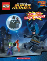 Omslag - Enter the Dark Knight (Lego DC Comics Super Heroes: Activity Book with Minifigure)