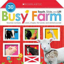 Touch, Slide, and Lift Busy Farm (Scholastic Early Learners) av Scholastic (Pappbok)