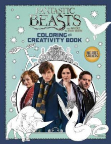 Coloring and Creativity Book (Fantastic Beasts and Where to Find Them) av Liz Marsham (Heftet)