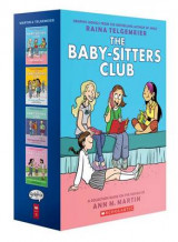 Omslag - The Baby-Sitters Club Graphix #1-4 Box Set: Full-Color Edition
