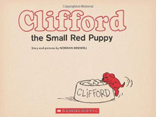 Clifford the Small Red Puppy: Vintage Hardcover Edition av Norman Bridwell (Innbundet)