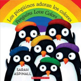 Omslag - Los Pinguinos Adoran Los Colores / Penguins Love Colors