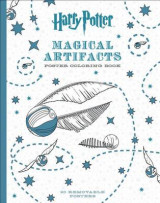 Omslag - Harry Potter Magical Artifacts Poster Coloring Book
