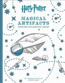 Harry Potter Magical Artifacts Poster Coloring Book av Scholastic (Heftet)